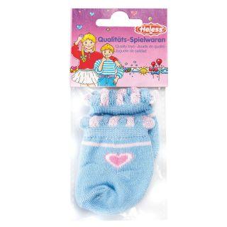 Doll socks-blue, 35-46 cm