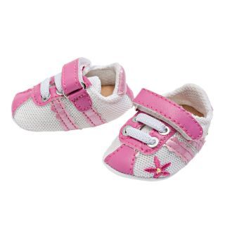 Dolls sports shoes-Pink/White, 38-45 cm
