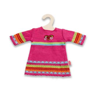 Knitted Dolls dress Hearty, 35-45 cm