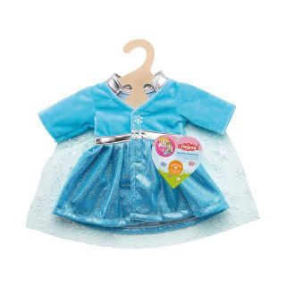 Doll dress Ice Princess with Cape, 35-45 cm