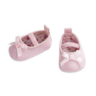 Doll ballerinas Pink, 30-34 cm
