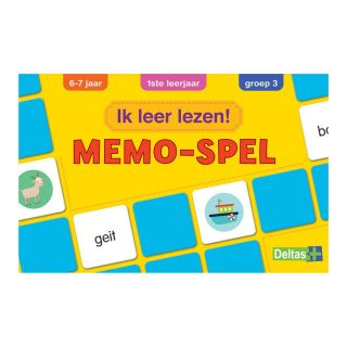I learn to read! Memo game