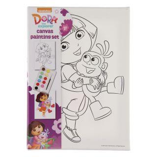 Canvas Painting Dora