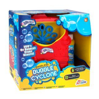 Bubble blowing machine Red