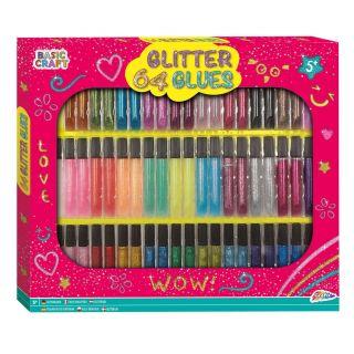Glitter Glue Deluxe Set, 64 Tubes