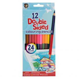 Crayons Double-sided, 12pcs.