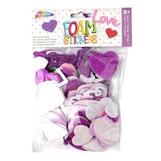 Foam stickers Hearts