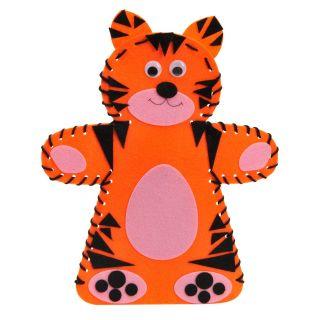 Jouet-Plus Kit de création marionnette Tigre