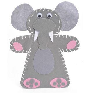 Jouet-Plus Kit de création marionnette Eléphant