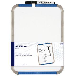 Jouet-Plus Tableau blanc A3 avec marqueur