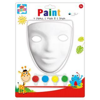 Jouet-Plus Masque à peindre, modèle aléatoire MVZ/3