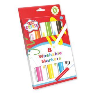 Washable Markers, 8pcs.