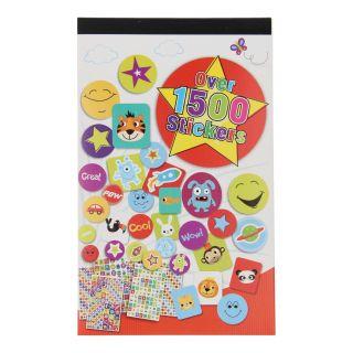 Sticker book, 1,500 Stickers