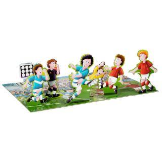 3D Floor puzzle soccer