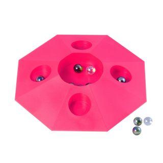 Jouet-Plus Jeu de billes avec pot rose XL