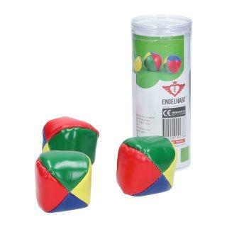 Jouet-Plus Lot de 3 balles de jonglage Armand