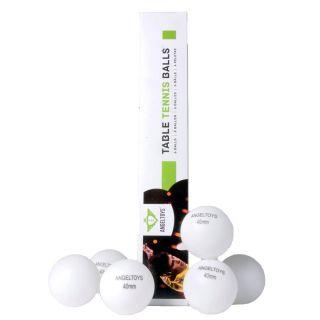 Jouet-Plus Balle de tennis de tables, 6pcs