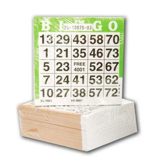 Bingo cards, 500st.