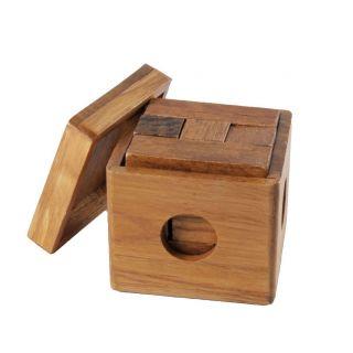 Jouet-Plus Rubik's Cube en bois avec son étui