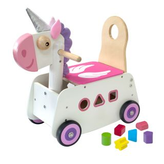I'm Toy Running and Pushing Unicorn