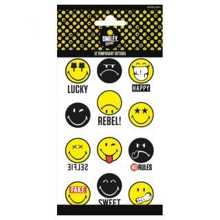 Jouet-Plus Tatouages Smiley