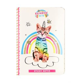 Totum Rainbow Pets - Sticky Notes Booklet Cat
