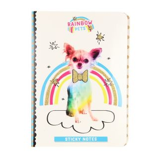 Totum Rainbow Pets - Sticky Notes Booklet Dog
