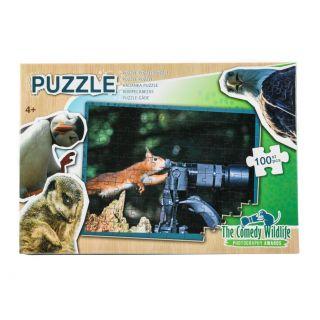Jouet-Plus Puzzle la comédie de la Faune, 100pcs