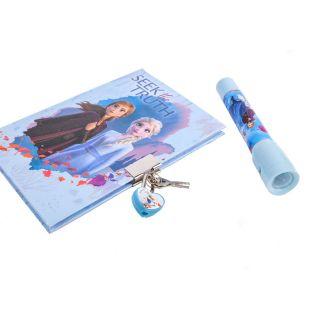 Jouet-Plus Journal intime Disney La Reine des Neiges II avec stylo UV
