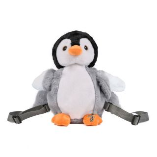 Flappers Backpack Penguin Eco plush
