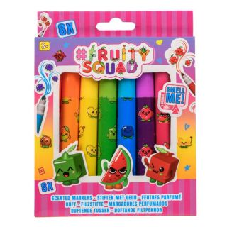 Fruity Squad Pens Broad Point with Fragrance, 8pcs.