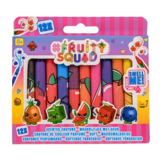 Fruity Squad Crayons with Fragrance, 12pcs.