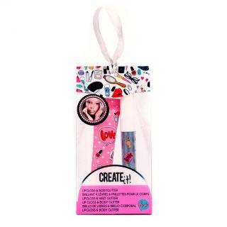 Create It! Lipgloss & Body Glitter
