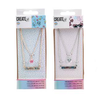Create It! Chain 3-Layer Diamond