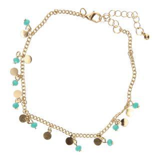 Jouet-Plus Bracelet de cheville en or