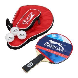 Jouet-Plus Raquettes de tennis de table Slazenger ** avec 3 balles