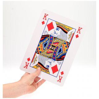 Jouet-Plus Cartes à jouer XL