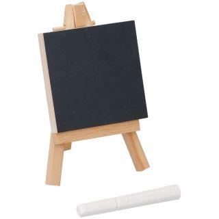 Jouet-Plus Mini tableau noir avec chevalet