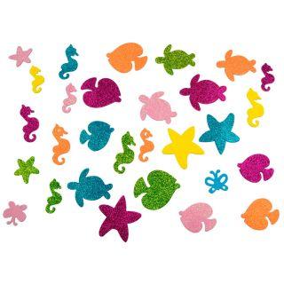 Craft stickers Sea animals, 75 pcs.