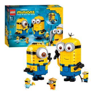 LEGO 75551 Minions Figures bricks and their hiding place