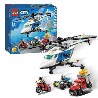 LEGO City 60243 Police helicopter Pursuit