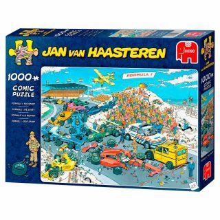Jan van Haasteren Puzzle - Formula 1 The Start, 1000st.