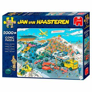Jan van Haasteren Puzzle - Formula 1 De Start, 2000st.