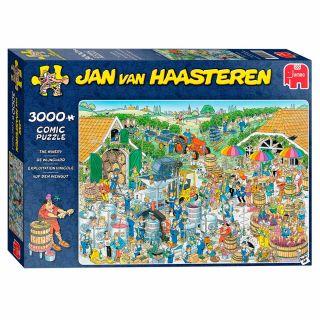 Jan van Haasteren Puzzle - The Winery, 3000st.