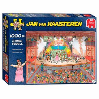 Jan van Haasteren Puzzle - Eurosong Contest, 1000st.