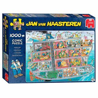 Jan van Haasteren Puzzle - Cruise Ship, 1000st.