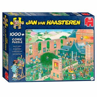 Jan van Haasteren Puzzle - The Art Market, 1000st.