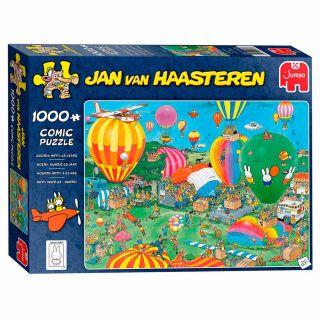 Jan van Haasteren Puzzle - Celebrates Miffy 65 years, 1000st.