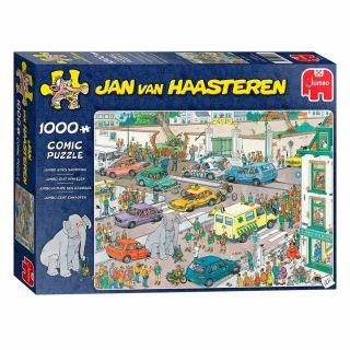 Jan van Haasteren Puzzle - Jumbo goes Shopping, 1000st.