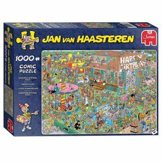 Jan van Haasteren Puzzle - Birthday Party, 1000st.